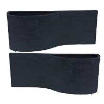 Linea Wall Planter Black-Set 2
