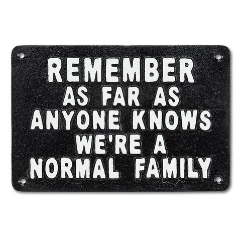 "Sign-Normal Family 9""L"