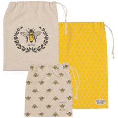 Produce Bags Busy Bee Set/3