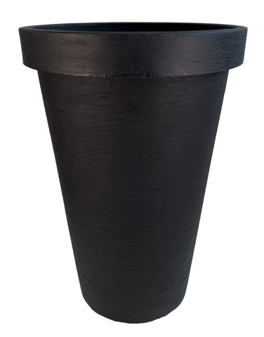 Rose Planter Black 21.5""