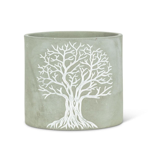 "Tree of Life Planter 6.5"" Diam"