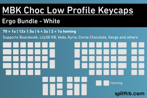 Load image into Gallery viewer, MBK Choc Low Profile Keycaps