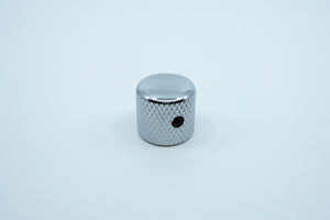 Load image into Gallery viewer, A photo showing the side of the shiny knurled metal encoder knob.