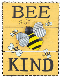 Bee Kind Bee Sign