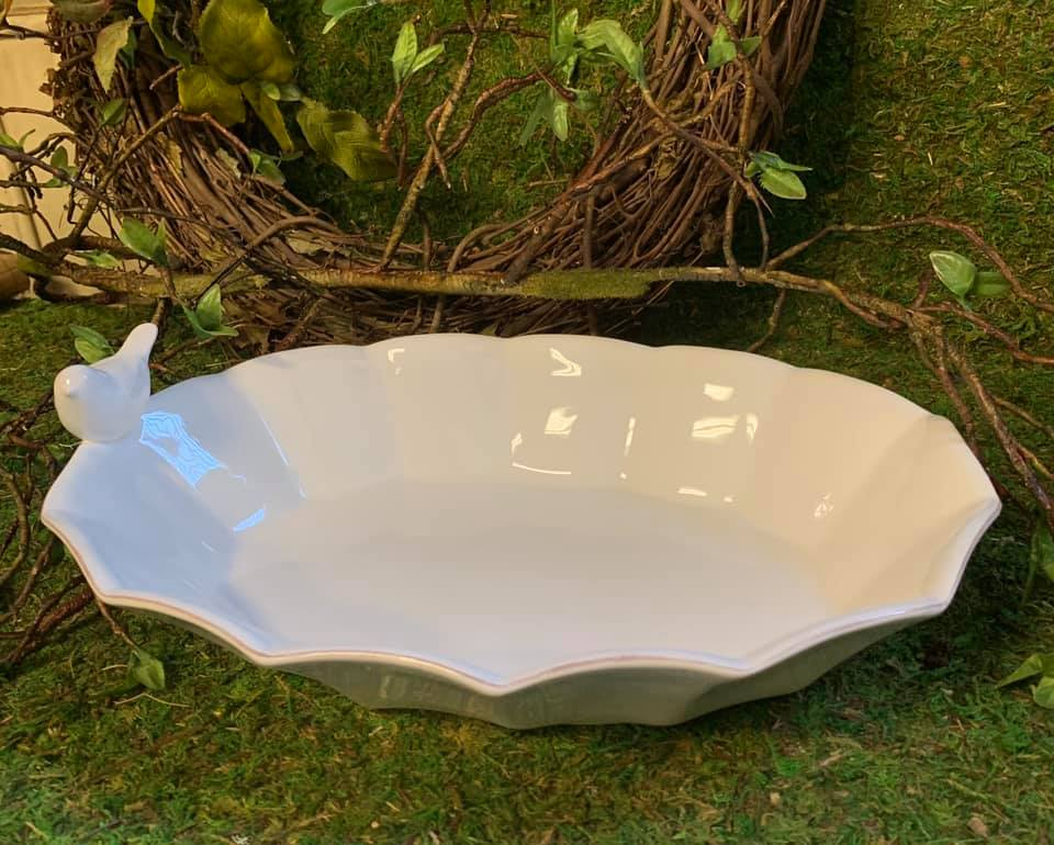 Bird Serving Bowl