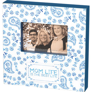 Box Frame - Mom Life Is The Best Life