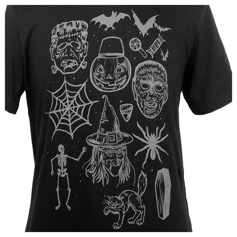 Trick or Treat Vintage Halloween Mens Tee