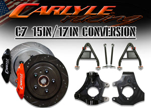 "C7 17"" Rear Wheel Conversion Kit"