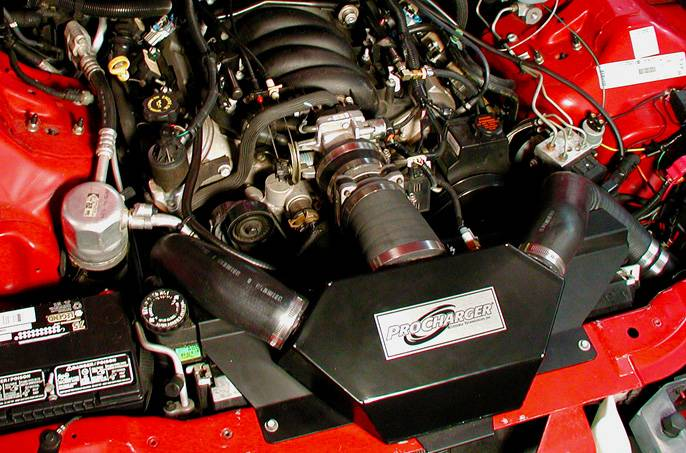 Chevy Camaro/Firebird LS1 1998-2002 Procharger - HO Intercooled TUNER KIT