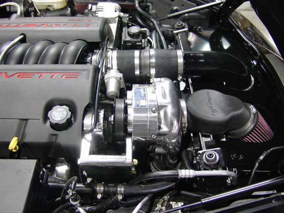 Corvette C6 2005-2007 (LS2) Procharger - Stage II Intercooled System P-1SC-1