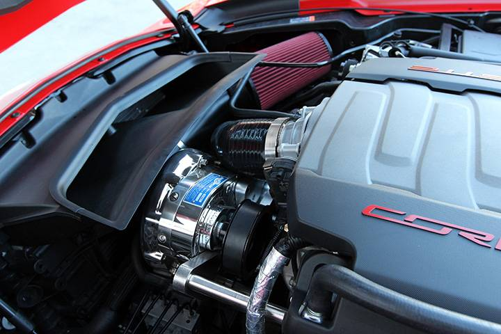 Corvette C7 Stingray 2014-2018 6.2L LT1 Procharger Supercharger - HO Intercooled P-1SC-1 Complete Kit