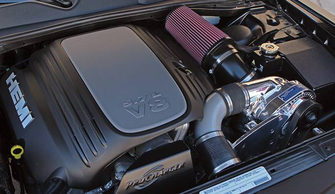 Dodge Charger HEMI R/T 5.7L 2011-2014 Procharger - HO Intercooled P1SC1