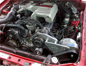FORD MUSTANG AND COBRA 1986-1993 5.0L PROCHARGER - HO INTERCOOLED TUNER KIT WITH P1SC 8 RIB