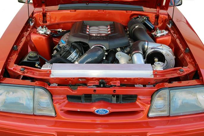 FORD MUSTANG COYOTE 5.0L (4V) PROCHARGER TRANSPLANT HO INTERCOOLED TUNER KIT WITH P-1SC-1
