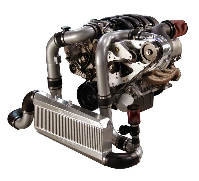 FORD MUSTANG GT 2005-2009 PROCHARGER SUPERCHARGER 4.6L - INTERCOOLED SERP RACE KIT F-1A