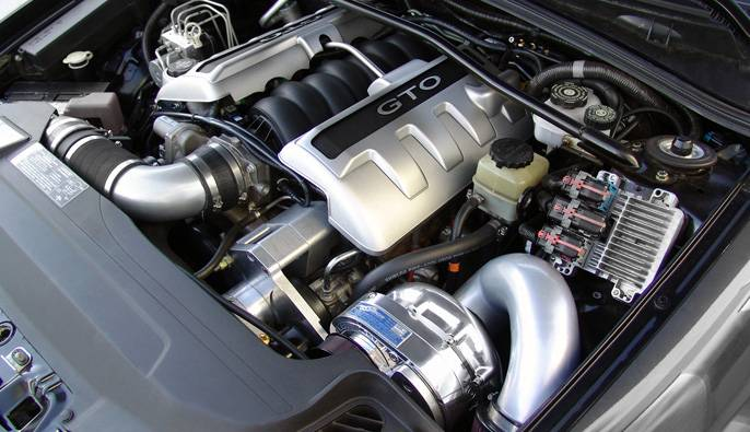 PONTIAC GTO LS2 2005-2006 PROCHARGER - HO INTERCOOLED P1SC1
