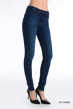 Classic High Rise Skinny Jeans - Dark Wash