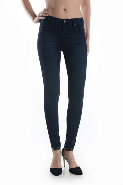 High Rise Super Skinny Jeans - Dark Wash