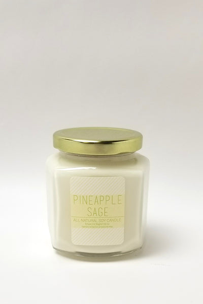 8oz Glass Jar Signature Collection Candle - Multiple Scents Available