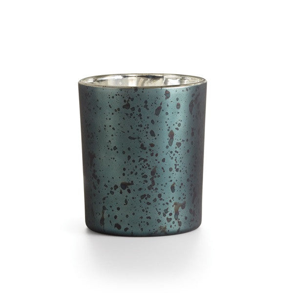8oz Majestic Glass Oxidized Mercury Glass Candle - Amber Dunes, Blackberry Absinthe or Santal Fig
