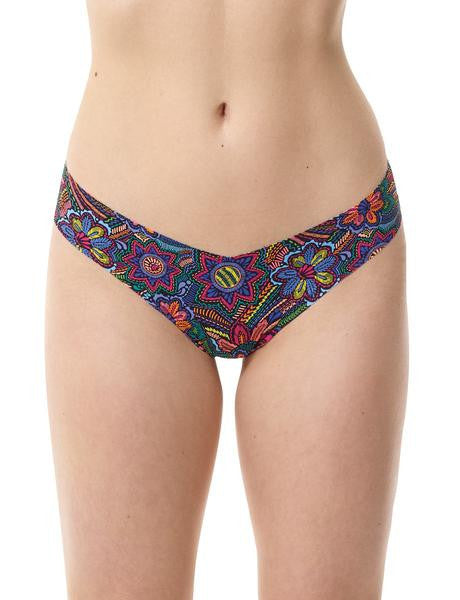 Fashion Print Seamless Thong Underwear - Multiple Patterns Available