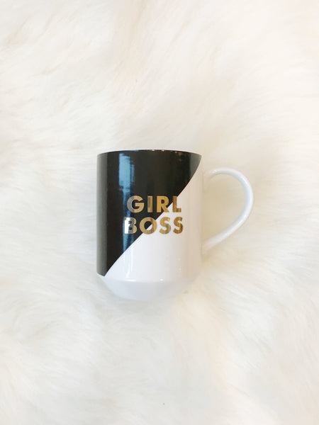 Decorative Ceramic Mug - Girl Boss