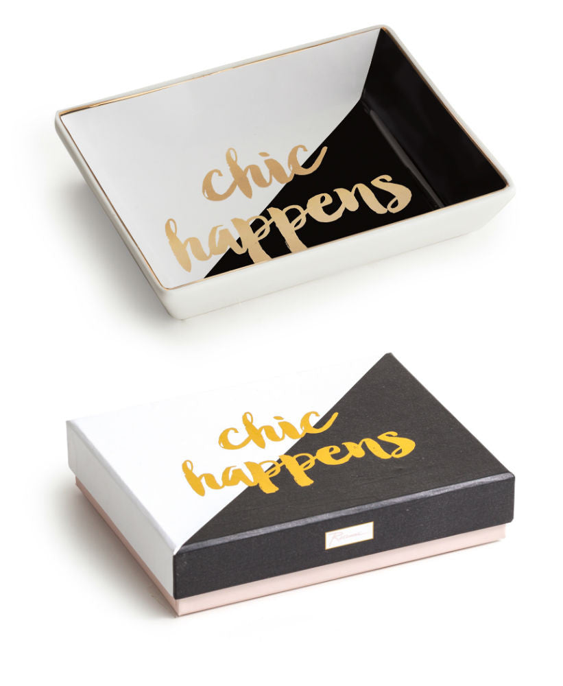 """Ladie's Choice"" Decorative Tray - ""Chic Happens"""