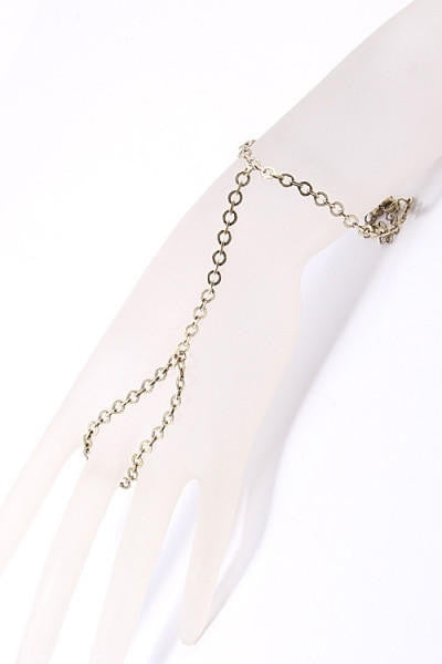 Plain Hand Chain - Brass