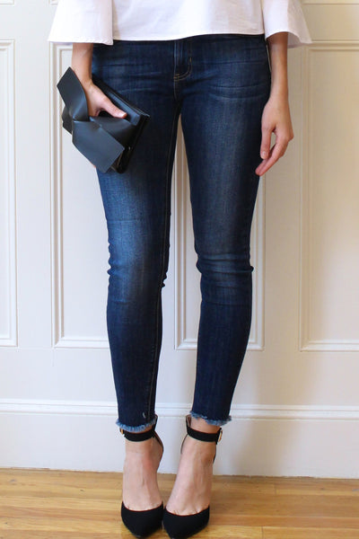 Skylar High Rise Skinny Jeans - Dark Wash