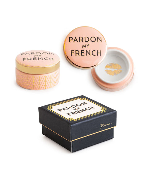 """Jazz Age"" Decorative Box - ""Pardon My French"""