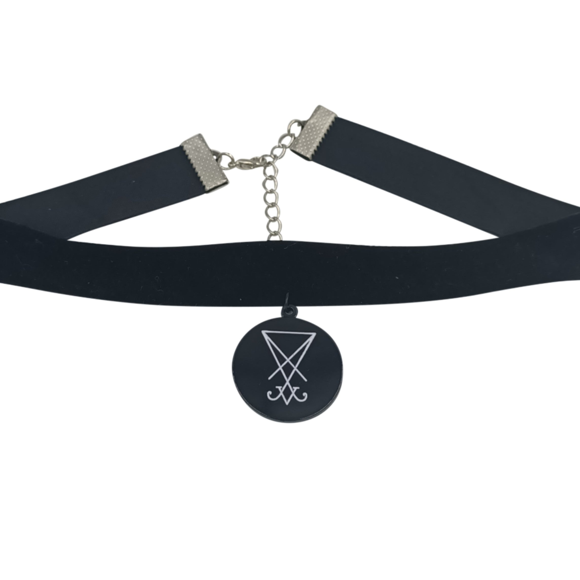 Sigil of lucifer choker
