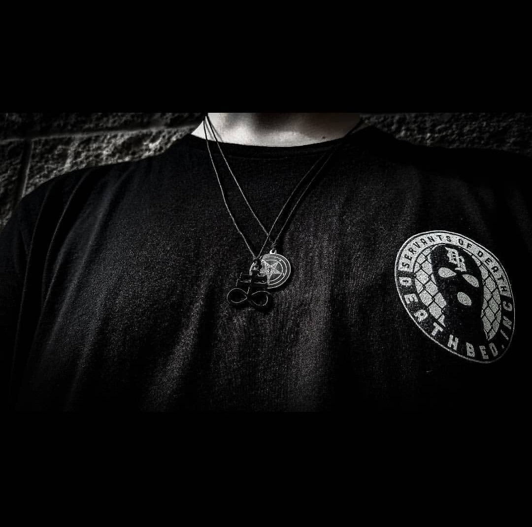 Leviathan cross necklace