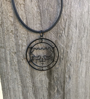 Belial sigil Necklace
