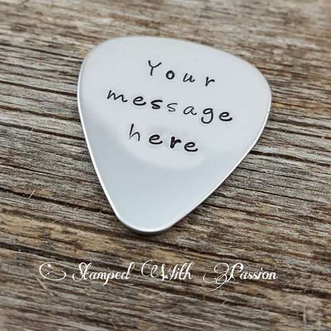 Personalized Guitar Pick, Customize it anyway you want