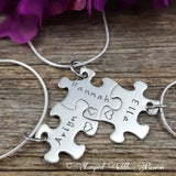 Sister Jewelry, Puzzle Piece Necklace