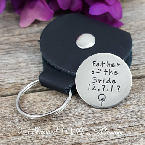 Father of the bride Golf ball marker