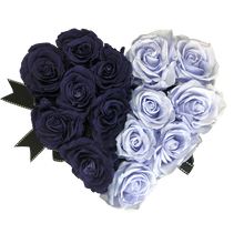 Load image into Gallery viewer, Black Heartfully Violet
