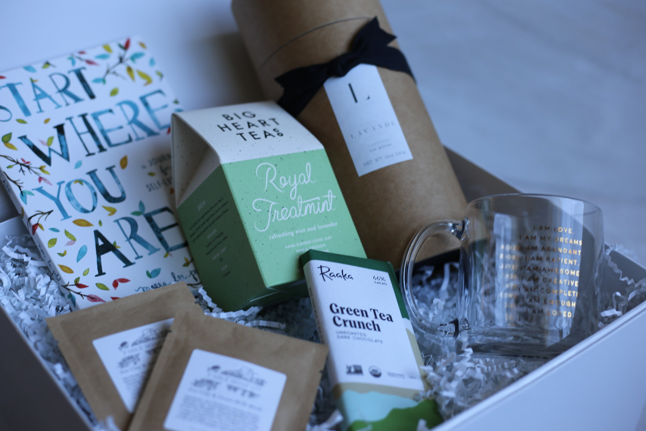 Relaxing & soothing gift box