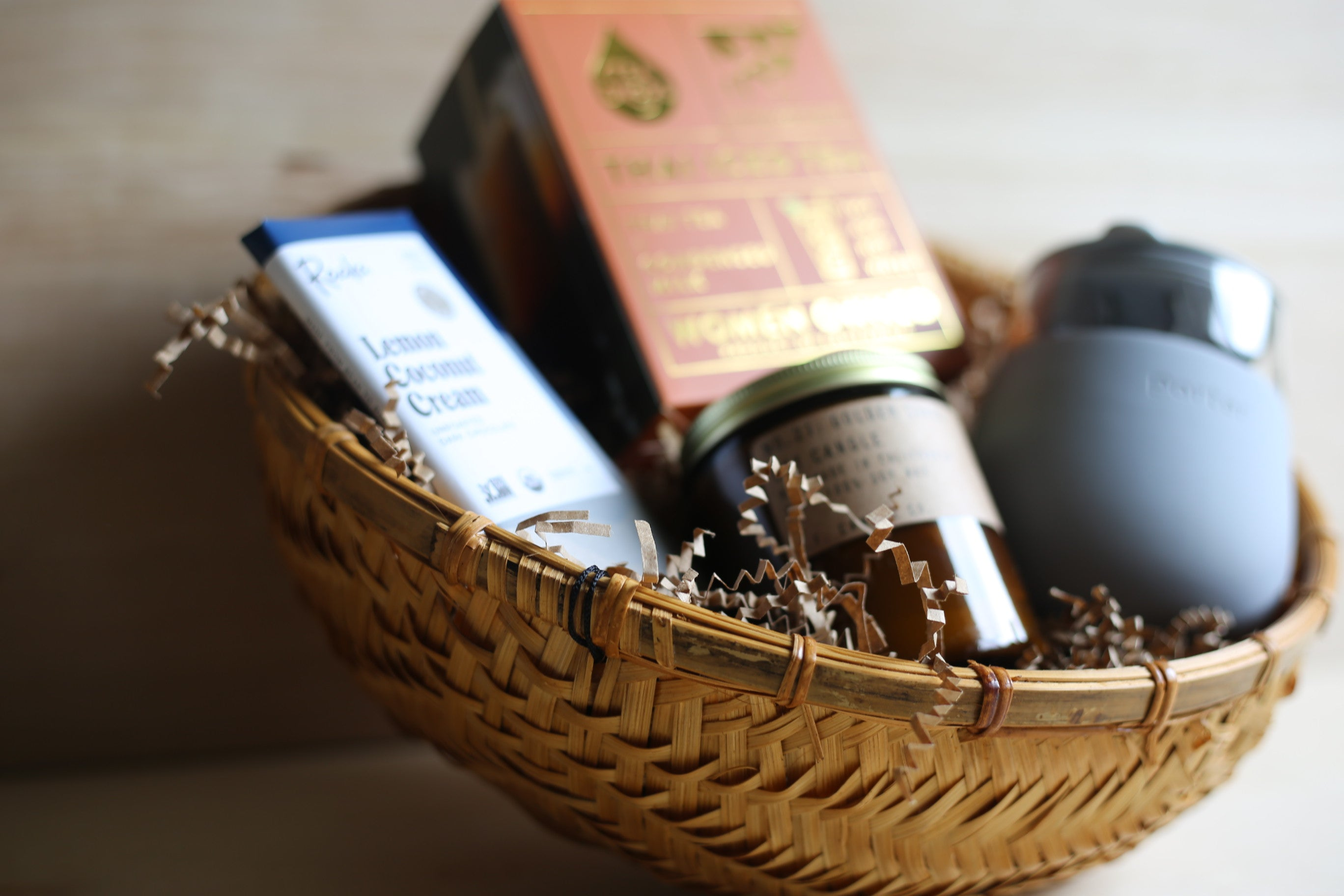 Gift basket with summer feeling