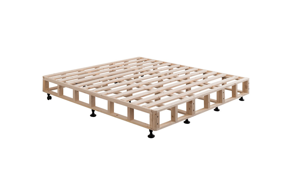 Mattress Base King Size White