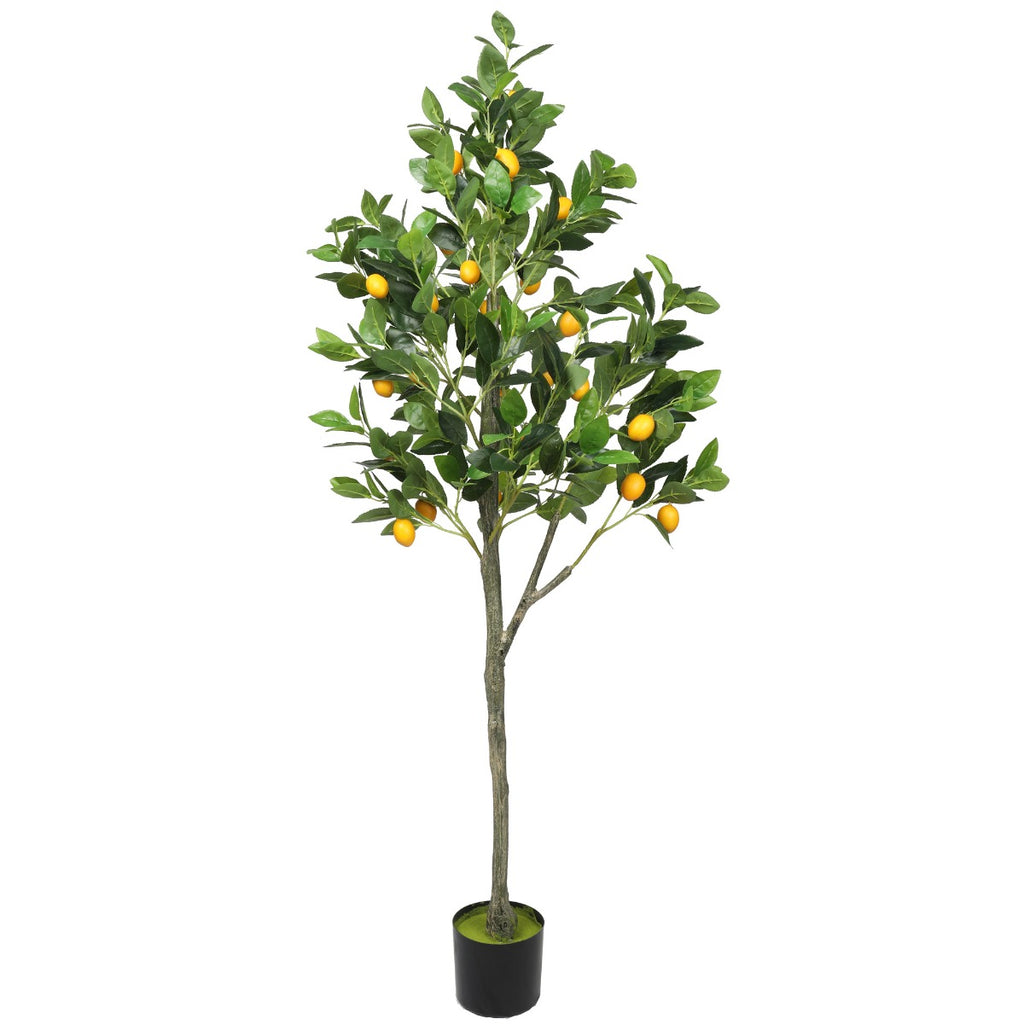 Artificial Lemon Tree (Potted) with Lemons 150cm