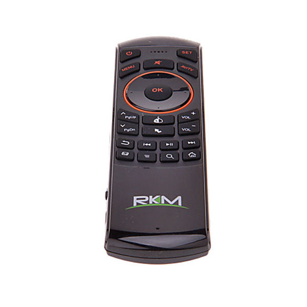 RKM MK705 2.4Ghz Wireless Mini Keyboard/Air Mouse/Learning Function for Android Mini PC/HTPC/Smart TV/Android TV Box/Media Player