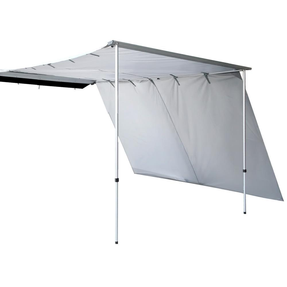 Weisshorn Car Shade Awning 2 X 3M W/ Extension 3 X 2M   Grey