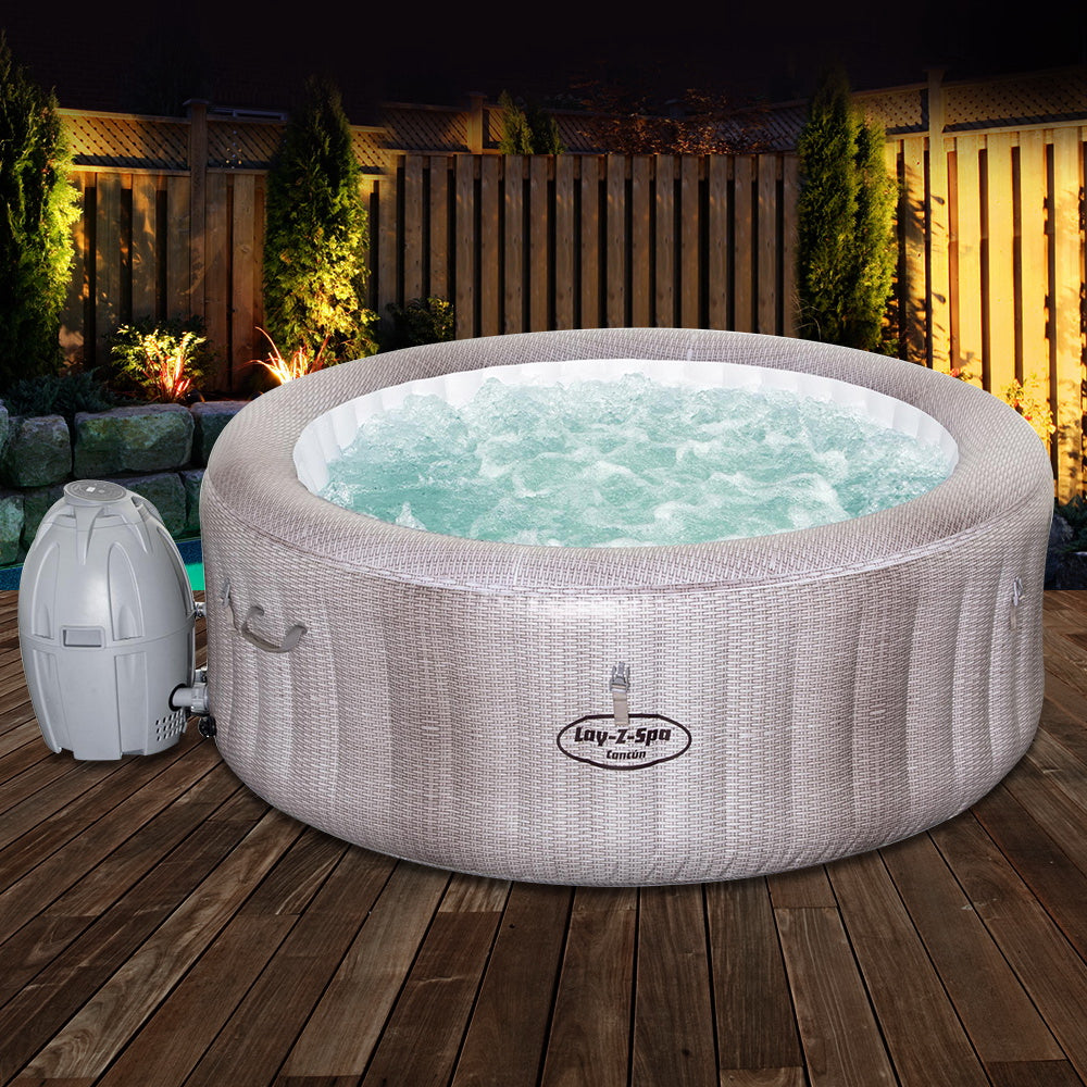 Bestway Spa Pool Massage Hot Tub InflatablePortable Spa Outdoor Bath Pools