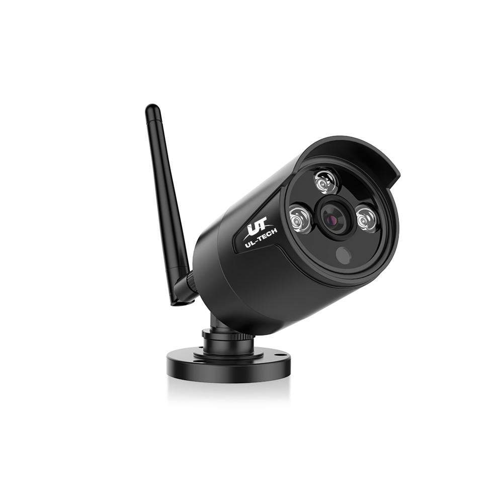 UL-TECH 2 x 1080P Wireless Security Camera System IP CCTV Home