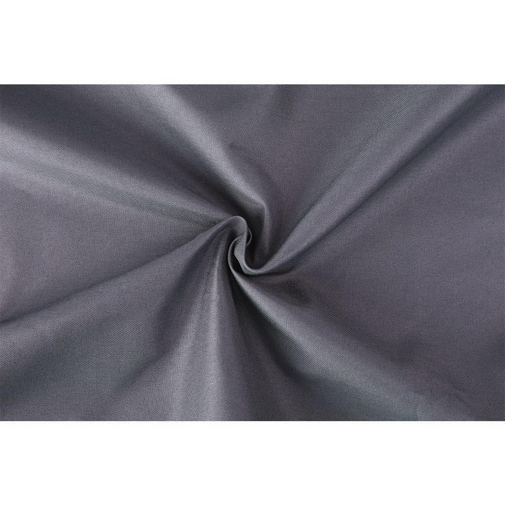 Art Queen 2 Pencil Pleat 140x213cm Blockout Curtains - Dark Grey