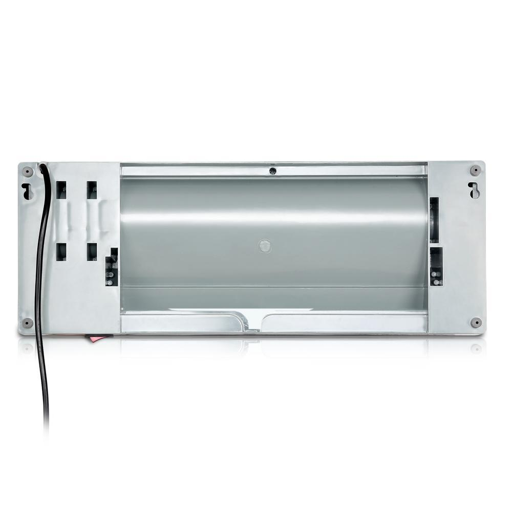 Devanti 2000W Wall Mounted Panel Heater - Silver