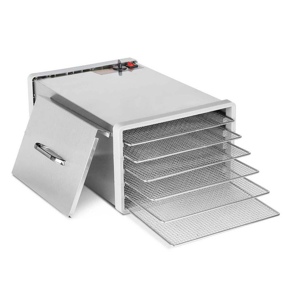 5 Star Chef Stainless Steel Food Dehydrator with 6 Trays