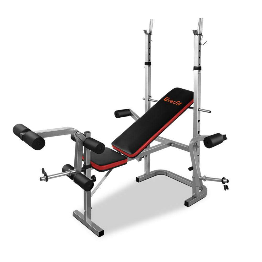 Everfit 7-in-1 Weight Bench Grey Frame