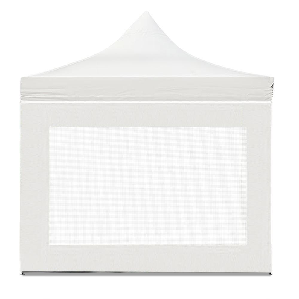 Instahut Aluminium Pop Up Gazebo Outdoor Folding Marquee Tent 3x3m White